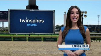 TwinSpires TV Spot, 'Churchill Downs or Belmont Park: Money Back for 2nd or 3rd'