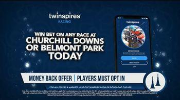 TwinSpires TV Spot, 'Churchill Downs or Belmont Park: Money Back for 2nd or 3rd' - Thumbnail 3