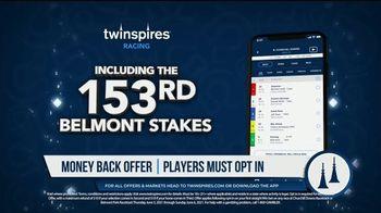 TwinSpires TV Spot, 'Churchill Downs or Belmont Park: Money Back for 2nd or 3rd' - Thumbnail 4