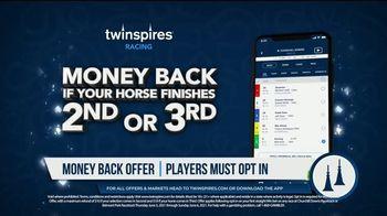 TwinSpires TV Spot, 'Churchill Downs or Belmont Park: Money Back for 2nd or 3rd' - Thumbnail 5