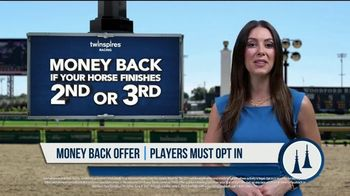 TwinSpires TV Spot, 'Churchill Downs or Belmont Park: Money Back for 2nd or 3rd' - Thumbnail 6