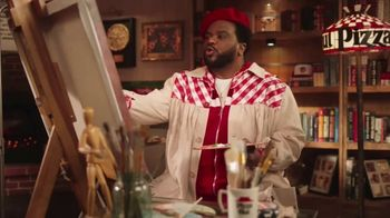 Pizza Hut The Edge TV Spot, 'Painting' Featuring Craig Robinson - Thumbnail 2