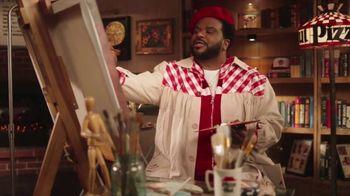 Pizza Hut The Edge TV Spot, 'Painting' Featuring Craig Robinson - Thumbnail 4