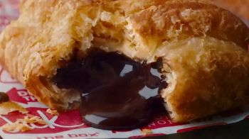 Jack in the Box Chocolate Croissant Bites TV Spot, 'Buttery & Flakey' - Thumbnail 3