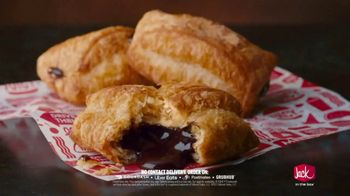 Jack in the Box Chocolate Croissant Bites TV Spot, 'Buttery & Flakey' - Thumbnail 8