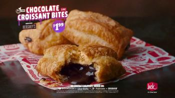 Jack in the Box Chocolate Croissant Bites TV Spot, 'Buttery & Flakey' - Thumbnail 9