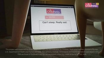 Childhelp TV Spot, 'Can't Sleep' - Thumbnail 9