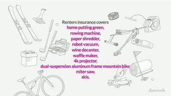 Lemonade Renters Insurance TV Spot, 'Covers Your Impulse Buys' - Thumbnail 5