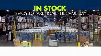 Rooms to Go 3 Day Warehouse Sale TV Spot, 'Houston: Save Up to 30%' - Thumbnail 7