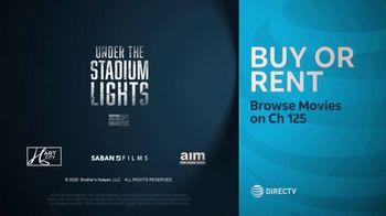 DIRECTV Cinema TV Spot, 'Under the Stadium Lights' - Thumbnail 10