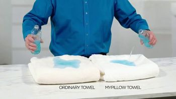 My Pillow Towels TV Spot, 'Commercial Interruption: Get Dry Faster' - Thumbnail 3