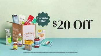 Thrive Market TV Spot, 'No Retail Markups: $20' - Thumbnail 10