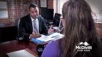 McDivitt Law Firm, P.C. TV Spot, 'Never Settle for Less'