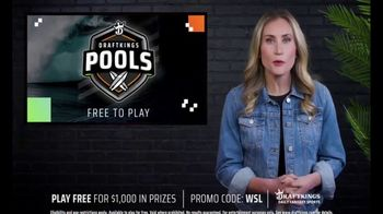 DraftKings TV Spot, 'World Surf League: Drop In On the Action'