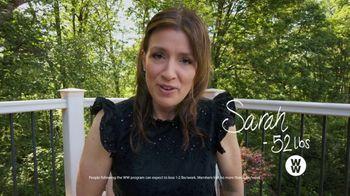 WW TV Spot, 'Goodbye Hello: Sarah: 50% Off'