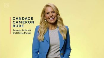 QVC TV Spot, 'Style Makers: Comfortable and Confident' Featuring Candace Cameron Bure - 1 commercial airings