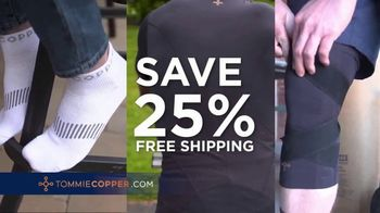 Tommie Copper Lower Back Support Shirt TV Spot, 'Fight Pain: Save 25%' - Thumbnail 9
