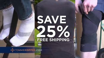 Tommie Copper Lower Back Support Shirt TV Spot, 'Fight Pain: Save 25%' - Thumbnail 8