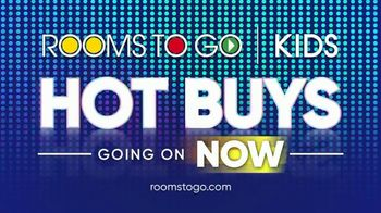 Rooms to Go Kids TV Spot, 'July 4th Hot Buys: Twin Panel Bed' - Thumbnail 7
