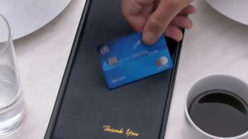 Citi Custom Cash Card TV Spot, 'It Pays to be Rashida & Dan: Workout, Gas Station, Café' - Thumbnail 7