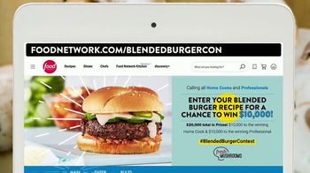 Mushroom Council TV Spot, 'Food Network: Blended Burger Contest' - Thumbnail 4
