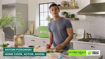 HelloFresh TV Spot, 'Skillet Shortcuts: 14 Free Meals' Featuring Antoni Porowski