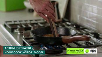 HelloFresh TV Spot, 'Skillet Shortcuts: 14 Free Meals' Featuring Antoni Porowski - Thumbnail 1