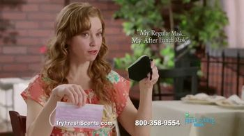 Guardwell Fresh Scents Scented Masks TV Spot, 'Breath Mint' - 4 commercial airings