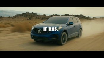 2021 Acura RDX TV Spot, 'Too Fast for Words' [T2] - Thumbnail 2