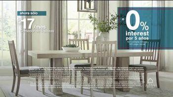 Ashley HomeStore Barras + Estrellas TV Spot, '50% de descuento o 0% de interés' [Spanish] - Thumbnail 2