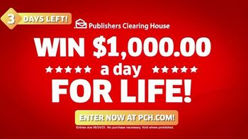 Publishers Clearing House TV Spot, 'Change Your Life: Three Days Left' Feat. Brad Paisley - Thumbnail 5