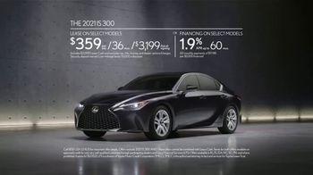 2021 Lexus IS TV Spot, 'Vanity Plates' Song by Ebo Taylor, Jr. [T2] - Thumbnail 9