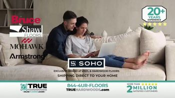 True Hardwoods TV Spot, 'Selection and Service: Free Shipping and 0% Financing'
