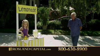 Rosland Capital TV Spot, 'Inflation' Featuring William Devane