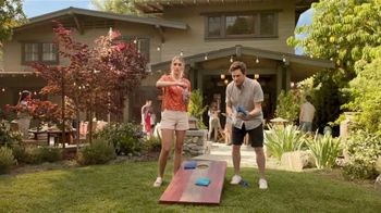 Blue Moon LightSky TV Spot, 'Cornhole' Featuring Rachael Harris - Thumbnail 1
