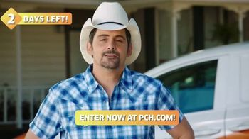 Publishers Clearing House TV Spot, 'Two Days Left: $1,000 a Day' Featuring Brad Paisley - Thumbnail 7