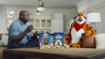 Frosted Flakes With Crispy Cinnamon Basketballs TV Spot, 'My Cereal' Featuring Shaquille O'Neal - Thumbnail 1