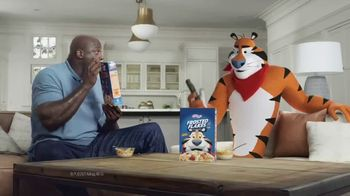 Frosted Flakes With Crispy Cinnamon Basketballs TV Spot, 'My Cereal' Featuring Shaquille O'Neal - Thumbnail 10