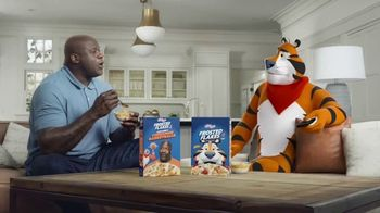 Frosted Flakes With Crispy Cinnamon Basketballs TV Spot, 'My Cereal' Featuring Shaquille O'Neal - Thumbnail 2