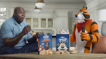 Frosted Flakes With Crispy Cinnamon Basketballs TV Spot, 'My Cereal' Featuring Shaquille O'Neal - Thumbnail 5