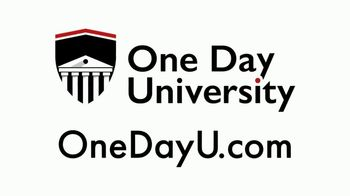 One Day University TV Spot, 'The Joy of Learning' - Thumbnail 2