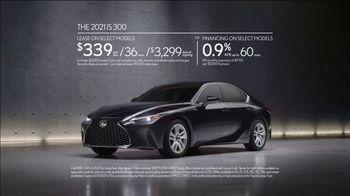2021 Lexus IS TV Spot, 'Vanity Plates' Song by Ebo Taylor, Jr. [T2] - Thumbnail 8
