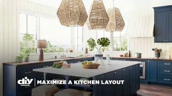 Delta Faucet TV Spot, 'DIY Network: Maximize a Kitchen Layout' - Thumbnail 1