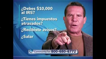 Community Tax TV Spot, 'Llama a tu defensor de impuestos' con Julio César Chávez [Spanish]