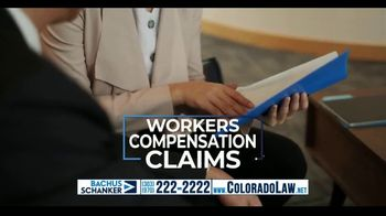 Law Offices of Bachus & Schanker TV Spot, 'Maximizing Your Workers Compensation Benefits'