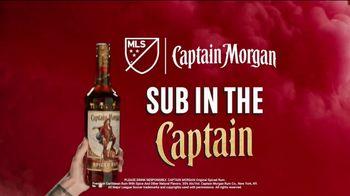 Captain Morgan TV Spot, 'MLS: Sub In the Captain' - Thumbnail 10