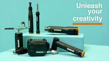 Worx MakerX TV Spot, 'Unleash Your Creativity' - Thumbnail 3