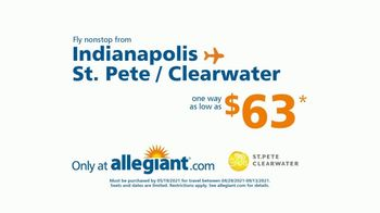Allegiant TV Spot, 'Going the Distance: Indianapolis to St. Pete/Clearwater: $63' - Thumbnail 10