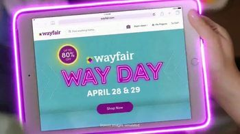 Wayfair Way Day TV Spot, 'Bathroom Upgrades, Rugs and Outdoor Furniture'