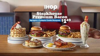 IHOP Steakhouse Premium Bacon TV Spot, 'El futuro del tocino' [Spanish] - Thumbnail 9
